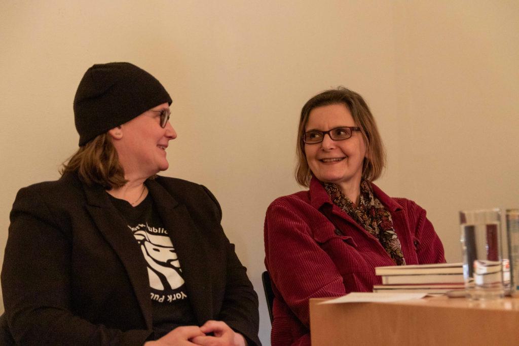 Anke Glasmacher und Agnieszka Lessmann